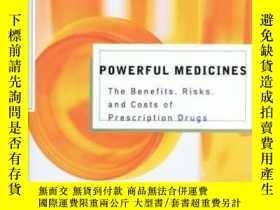 二手書博民逛書店Powerful罕見Medicines: The Benefit