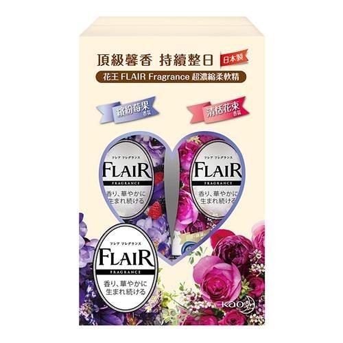 Flair 超濃縮衣物柔軟精 570毫升 X 4入