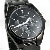 【萬年鐘錶】 Roven Dino 羅梵迪諾 楊丞琳代言 全黑白字時尚錶 RD9803LB