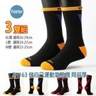 Footer 除臭襪 ZH163 M號 L號 XL號 做自己運動氣墊襪 局部厚 3雙超值組