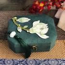 首飾盒 雙層首飾盒中國風飾品盒手鐲收納盒鏡子收納母親節禮物聘禮珠寶盒 印象