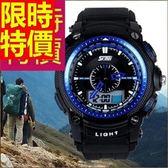 運動手錶-防水明星款戶外電子錶2色61ab15[時尚巴黎]