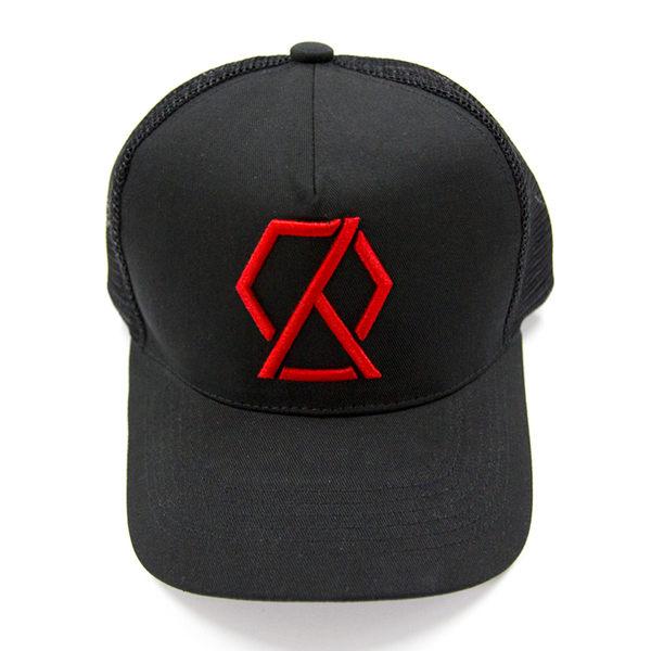 DEBRAND 經典LOGO電繡卡車司機帽(迷彩/黑白/黑紅)