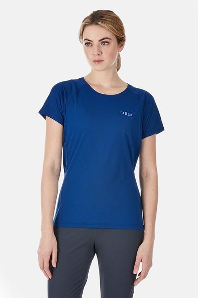 [好也戶外]Rab Women's Pulse SS Tee 短袖排汗衣 藍圖Blueprint
