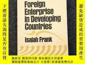 二手書博民逛書店Foreign罕見Enterprise in Developin