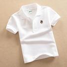 純棉兒童短袖T恤白色中大童裝女童男童夏裝...