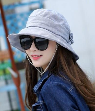 [協貿國際]  女士夏天可折疊防曬遮陽帽漁夫帽 (1入)