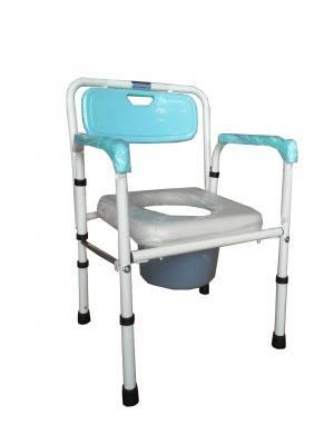 馬桶椅 便盆椅 便器椅 富士康 鐵製 軟墊 FZK-4221
