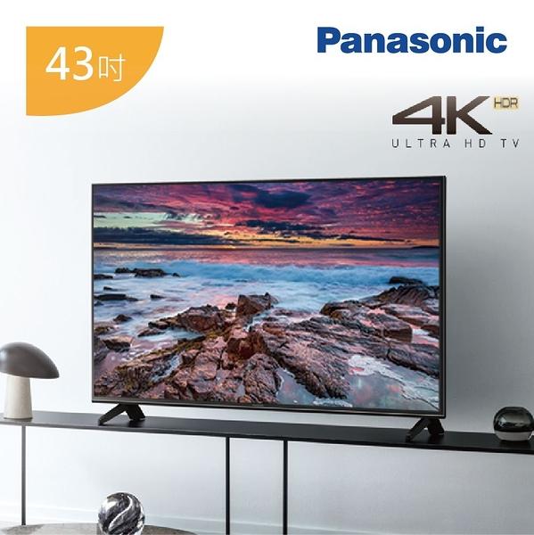 【超優展示出清+24期0利率】Panasonic 國際牌 TH-43FX600W 4K LED液晶電視