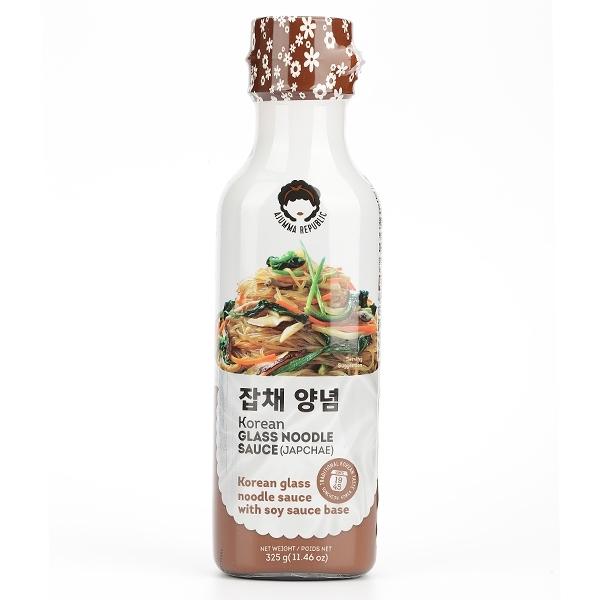 韓國 阿珠嬤韓式拌冬粉醬汁 325g 【庫奇小舖】炒冬粉  韓式冬粉醬 調味醬 烤肉醬
