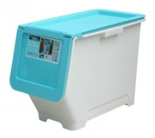 【好市吉居家生活】嚴選聯府KEYWAY~ LV600-1 前開式30L整理箱(藍) 置物箱 收納箱