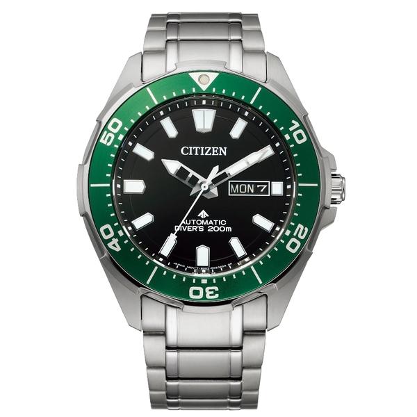 【分期0利率】星辰錶 CITIZEN 機械錶 防水200公尺 43.5mm 原廠公司貨 NY0071-81E 鈦金屬