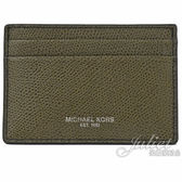 茱麗葉精品【全新現貨】MICHAEL KORS WARREN 信用卡鈔票夾禮盒組.橄欖綠