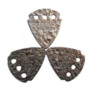 ★集樂城樂器★Dunlop Signature(Teckpick)鐵質感吉他彈片-銀凸(12片裝)