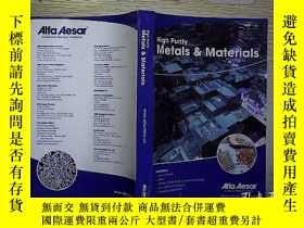 二手書博民逛書店High罕見Purity Metals MaterialsY20