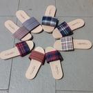 (e鞋院)MIT仿草蓆厚底舒適室內拖鞋-6雙