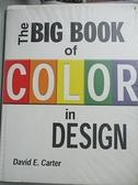 【書寶二手書T2/廣告_EXU】The big book of color in design_David E. Car