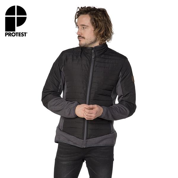 PROTEST 男 戶外保暖外套 (真實黑) SLICK OUTERWEAR JACKET