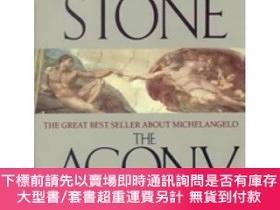 二手書博民逛書店The罕見Agony and the Ecstasy : A Biographical Novel of Mich