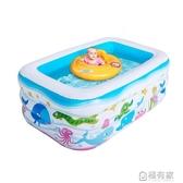充氣泳池 兒童充氣加厚游泳池家用大人泳池小孩嬰兒寶寶家庭洗澡池 ATF 聖誕免運