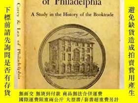 二手書博民逛書店Messrs.罕見Carey & Lea of Philadelphia: A Study in the Hist