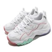 Skechers 休閒鞋 D Lites 3.0-Menlo Park 白 彩色 女鞋 粉嫩色系 運動鞋 【PUMP306】 149121WMLT