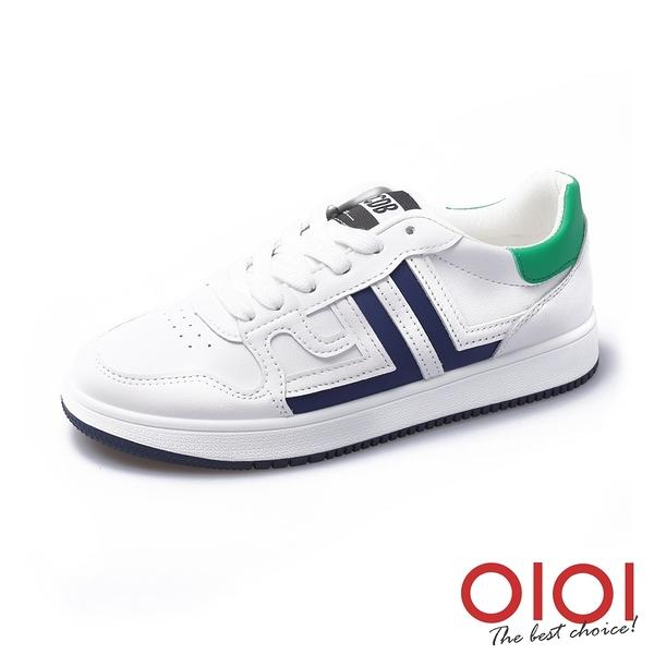 休閒鞋 活力女孩舒適小白鞋(藍) *0101shoes【18-H32b】【現+預】