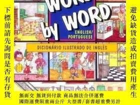 二手書博民逛書店Word罕見By Word Picture Dictionary Portuguese english Editi