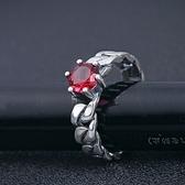 戒指 925純銀-復古流行生日情人節禮物女飾品73dx88[時尚巴黎]