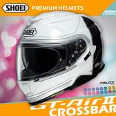[中壢安信]日本 SHOEI GT-Air II 2 彩繪 CROSSBAR TC-6 白黑 全罩 安全帽 內墨鏡
