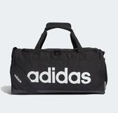 Adidas LINEAR LOGO DUFFEL BAG 黑色手提袋(小)-NO.FL3693