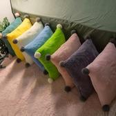 沙發靠墊抱枕套客廳靠背墊靠枕長方形大號枕頭簡約床頭護腰辦公室 LX 童趣屋