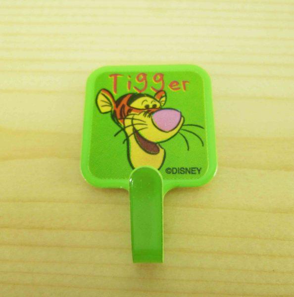 【震撼精品百貨】Winnie the Pooh 小熊維尼~3入掛勾-綠