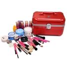 韓國化妝包 專業手提pc鋁合金化妝箱 大容量化妝品收納包便攜旅行 降價兩天