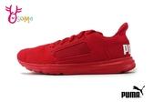 PUMA Enzo Street PS 慢跑鞋 中童 透氣 輕量 運動鞋 J9514#紅色◆OSOME奧森鞋業