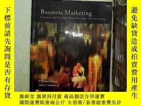 二手書博民逛書店Business罕見marketing connecting strategy,relationships and