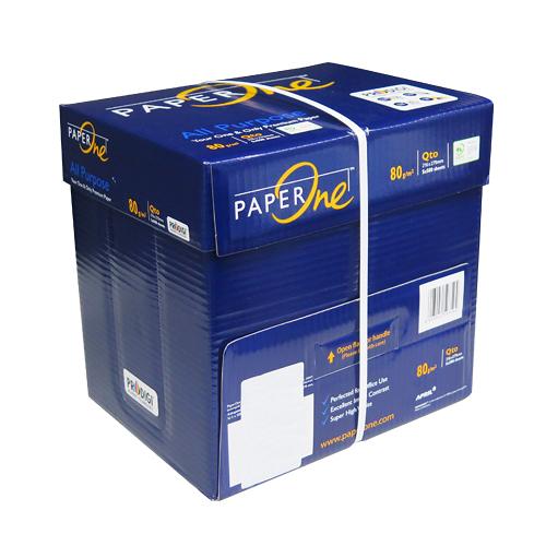 【奇奇文具】PAPER ONE 藍包80P LS影印紙(每箱5包)