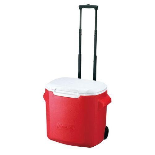 [好也戶外]Coleman 26.5L拖輪置物型冰桶/粉紅/天空藍/綠 No.CM-0028JM000/0029JM000/0491JM000