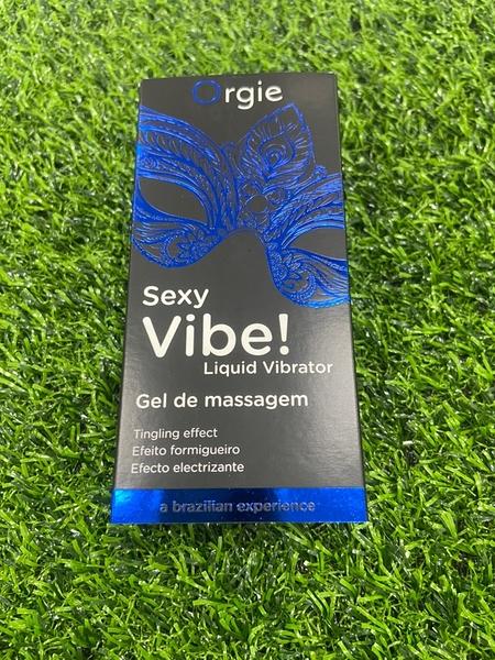 按摩油 潤滑液 葡萄牙ORGIE Vibrator Sexy Vibe 跳跳糖 跳動式潤滑液凝露 舒爽款 15ml