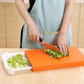 ◄ 生活家精品 ►【R31】多功能抽屜式切菜板 盛放 二合一 防滑 砧板 防溢水 瀝水 瀝乾 廚房 食物