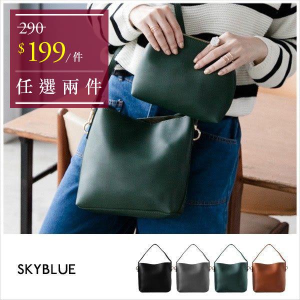 包中包-簡約單提把斜背包-共4色-A17171588-天藍小舖