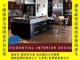 二手書博民逛書店Residential罕見Interior DesignY256260 Maureen Mitton Wile