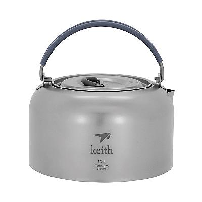 Keith純鈦 Ti3901茶壺(1000ml)