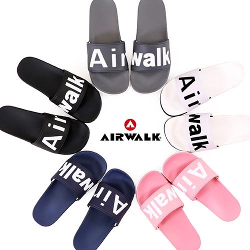 男女款 AIRWALK 輕量防水防滑拖鞋 街頭潮流運動拖鞋 海灘拖鞋 59鞋廊