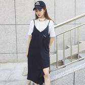 洋裝-條紋韓版時尚不規則休閒女連身裙73hd70【時尚巴黎】