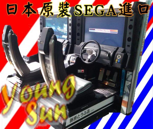 日本SEGA原裝賽車機 頭文字d系列 賽車機遊戲 大型遊戲機買賣租賃 陽昇國際 母親節園遊會