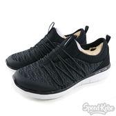 Skechers 慢跑鞋 Synergy 2.0 襪套 免綁帶 雪花 健走 女生 12379BKW-SPEEDKOBE-
