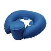 Outliving U型充氣枕 - 藍色