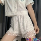 安全褲 安全褲jk女防走光白色lolita寬鬆蓬蓬女打底褲蕾絲內襯可外穿短褲寶貝計畫 上新