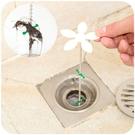 排水口疏通器 小花造型排水口毛髮收集疏通器 浴室毛髮收集